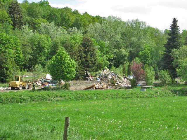 Ehemaliger Campingplatz an der Klus