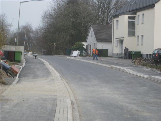 Bild der Baustelle Ausbau Homburger Str. vom 17.03.2011