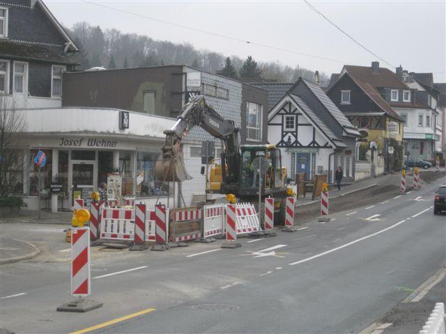Bild der Baustelle Ausbau KVP B256 vom 17.03.2011