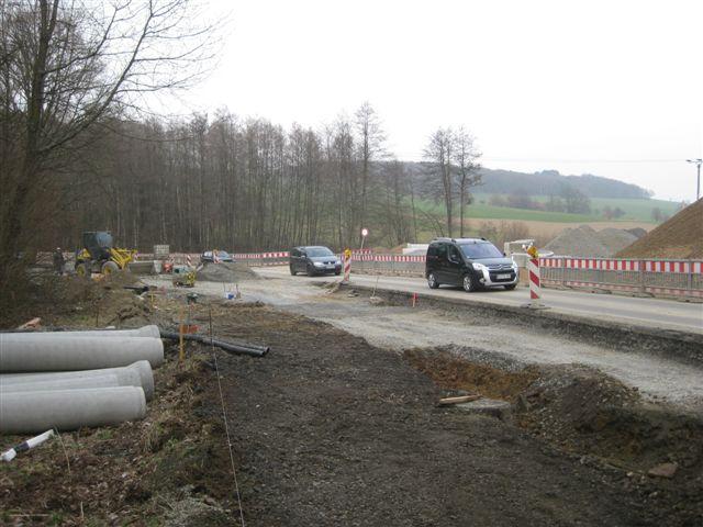 Bild der Baustelle Ausbau KVP L339 vom 17.03.2011