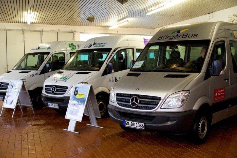 Bürgerbus Waldbröl mit neuem Fahrplan