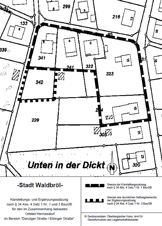 Lageplan Danziger Straße