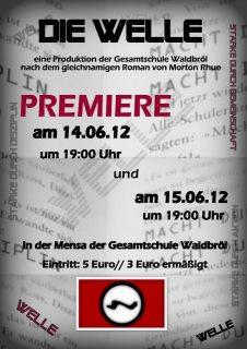 """Plakat """"Die Welle"""""""