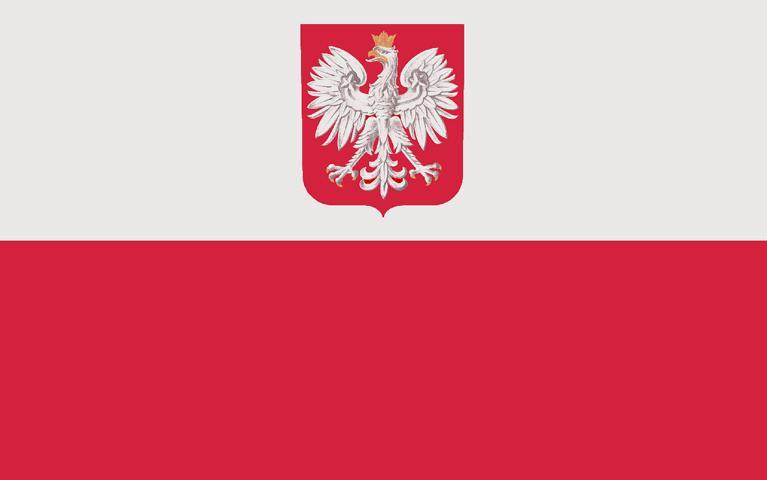 Nationalflagge Polens