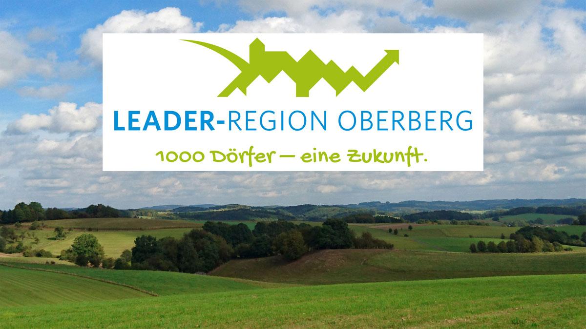 Symbolbild und Logo LEADER Programm