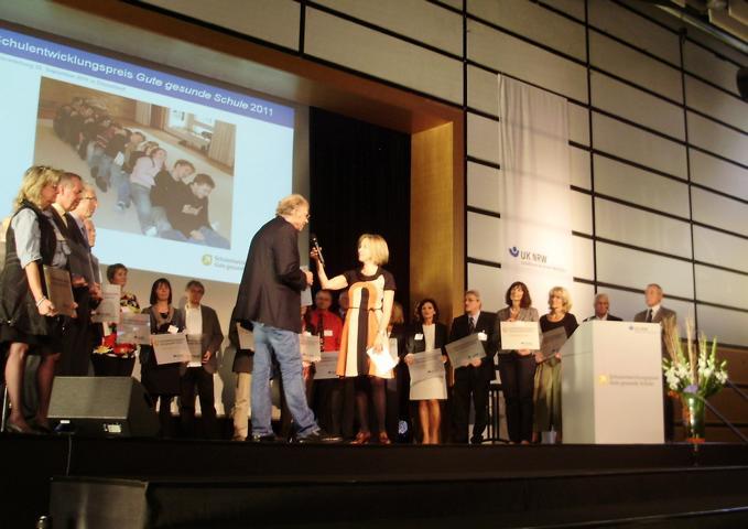 Preisverleihung der Unfallkasse Nordrhein-Westfalen Preisverleihung der Unfallkasse Nordrhein-Westfalen