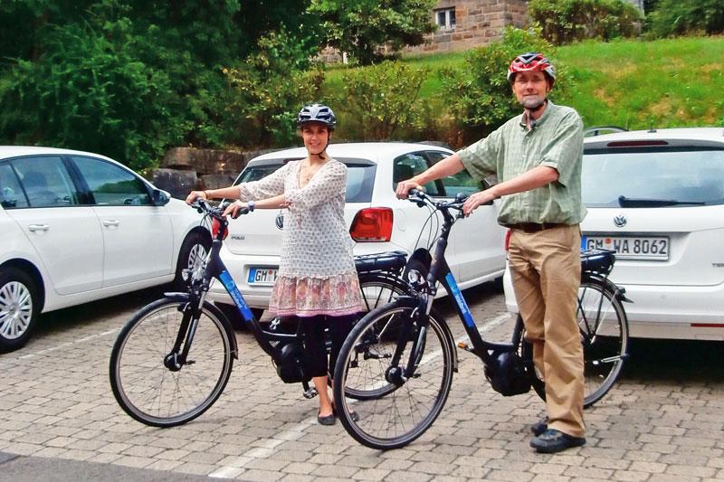 Mitarbeiter der Stadtverwaltung können für Dienstfahrten jetzt E-Bikes nutzen