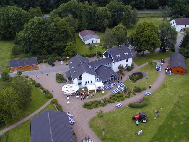 Luftaufnahme von Haus Segenborn
