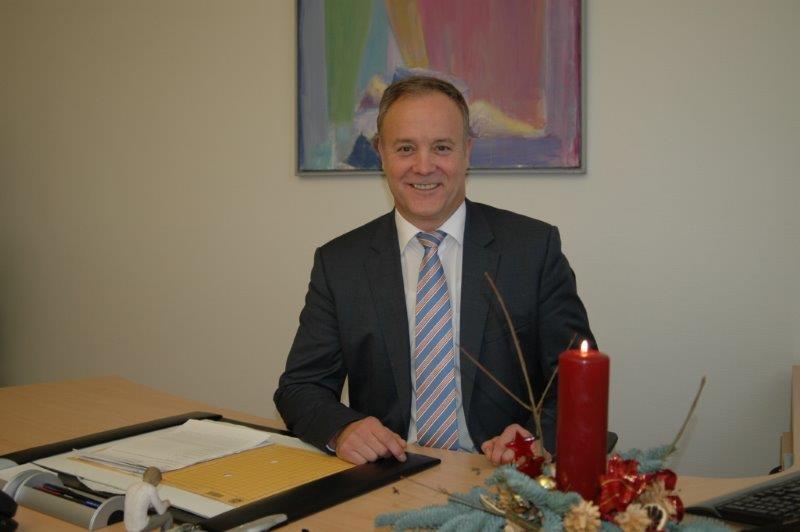 Weihnachtsgruß von Bürgermeister Peter Koester