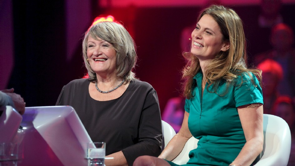 Alice Schwarzer und Sarah Wiener (Foto: ZDF/Frank W. Hempel)