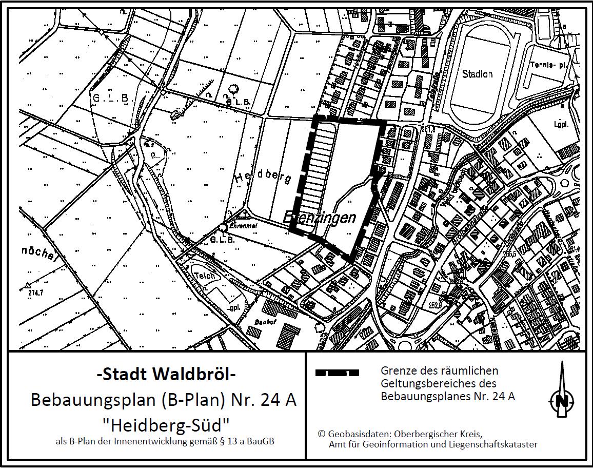 Bebauungsplan-Änderung Heidberg Süd