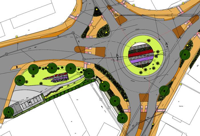 Den Gestaltungsplan für den Brölbahnkreisel können Sie unter dem Artikel auch als PDF-Dokument aufrufen