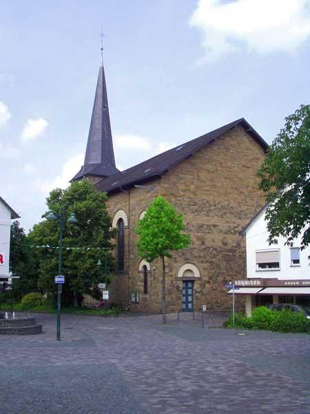 Die evangelische Kirche in Waldbröl