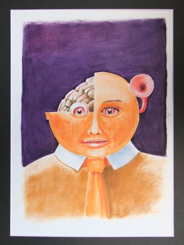"""Bild aus der Reihe """"Farboffensive"""" von Peter Leins"""