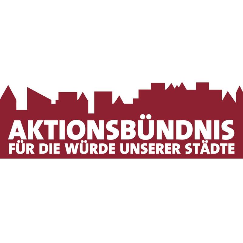 """Aktionsbündnis """"Für die Würde unserer Städte"""""""
