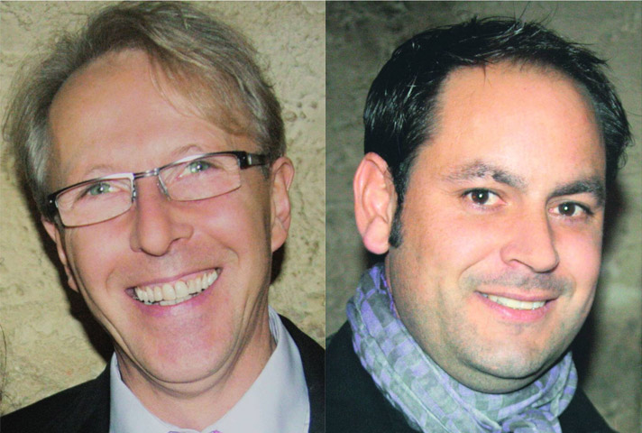 Die Architekten des Naturerlebnis Nutscheid: Matthias Eggemann und Tom Ahrens
