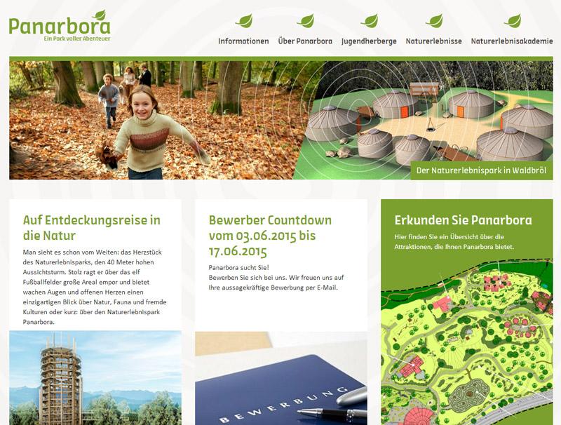 Europaweit einzigartiger Naturerlebnispark Panarbora stellt rund 30 Mitarbeiter ein