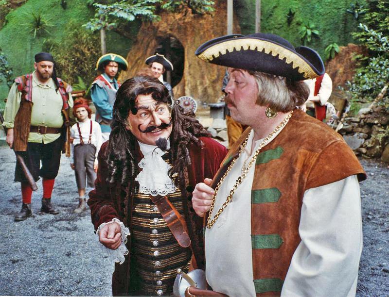 """Am 6. Juli geht es mit dem Kinderferienprogramm Waldbröl nach Freudenberg zur Freilichtbühne in die Vorstellung """"Peter Pan"""". (Foto aus einer früheren Inszenierung des gleichen Theaterstücks)"""