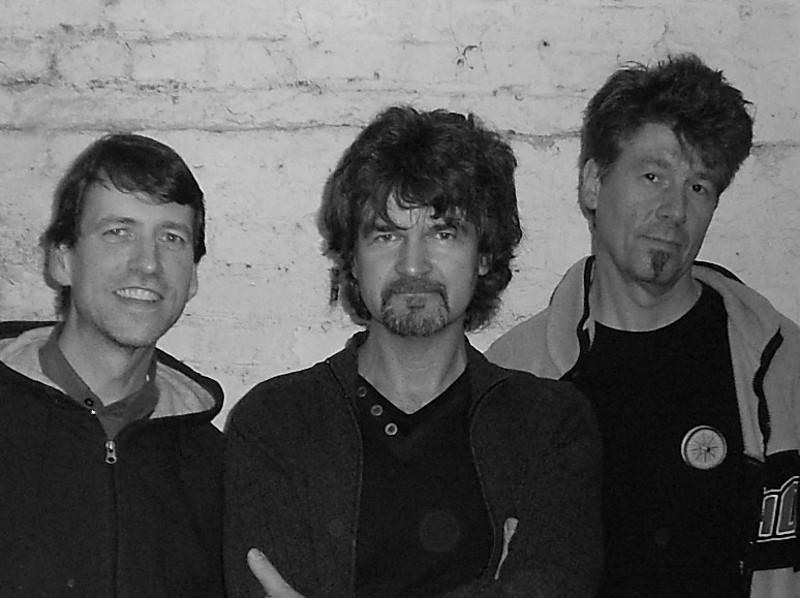 """Die Band """"ROCK STEADY"""" (vrnl.: Guido Berger, Winfried Geske, Martin Knabenschuh)"""