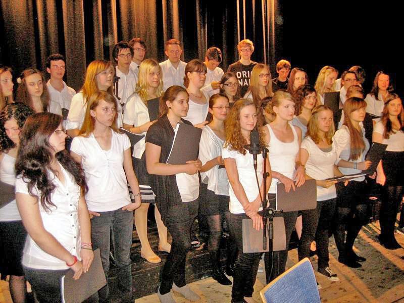 Der Schulchor CANTO des Hollenberg-Gymnasiums