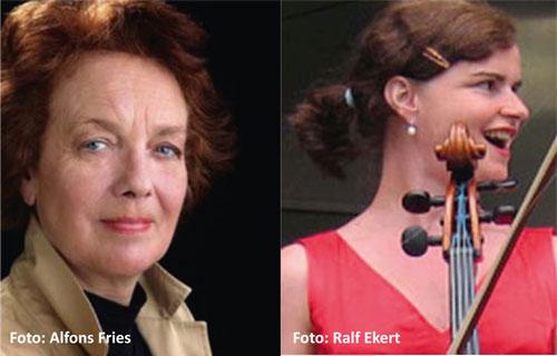 Paula Quast (Schauspielerin) und Krischa Weber (Musikerin) porträtieren die Literatin Mascha Kaléko lyrisch-musikalisch