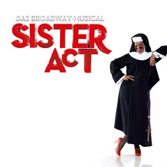 Plakat zum Musical Sister Act