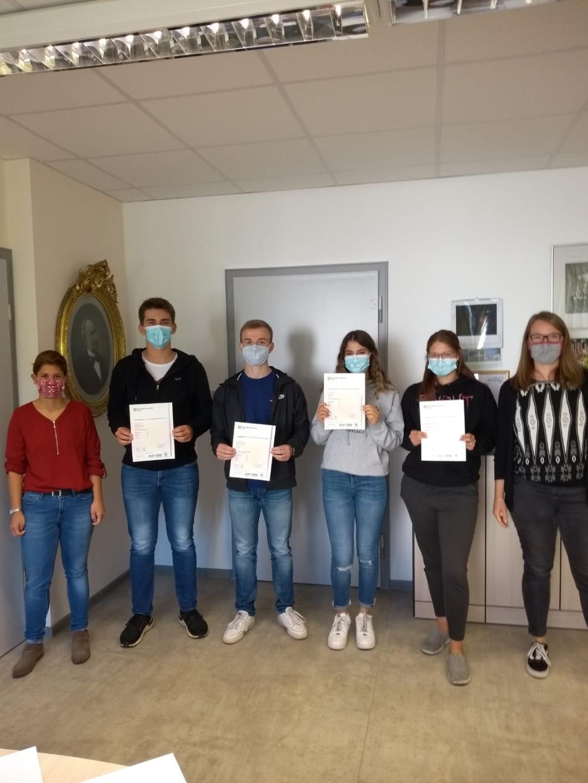 Hollenberg-Gymnasium Waldbröl - Cambridge Certificate erfolgreich bestanden