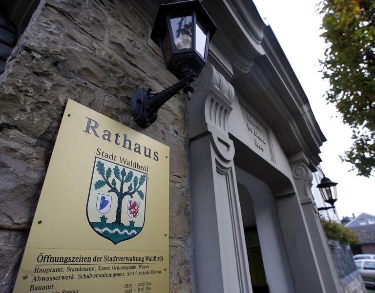 Altes Rathaus Eingang