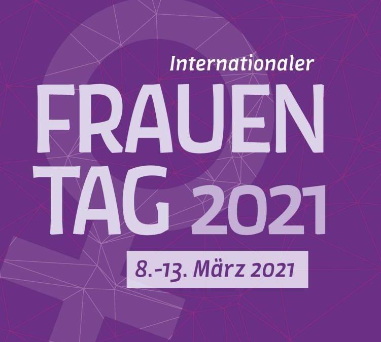 Online-Veranstaltungswoche zum Internationalen Frauentag 2021