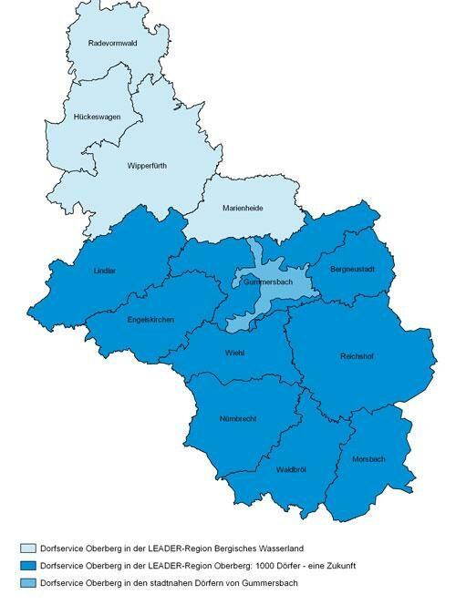 Dorfservice des Oberbergischen Kreises stellt Beratungsangebot vor