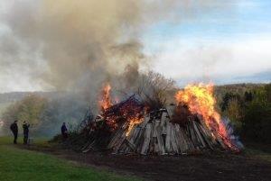 Auch 2021 keine Osterfeuer erlaubt