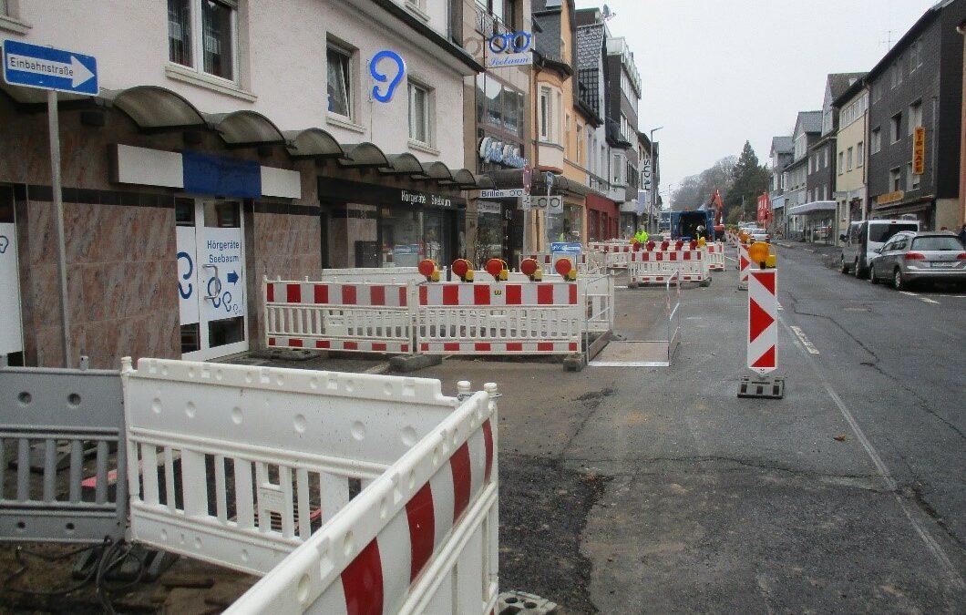 Umgestaltung der B 256 Kaiserstraße (Stand 18.03.2021)