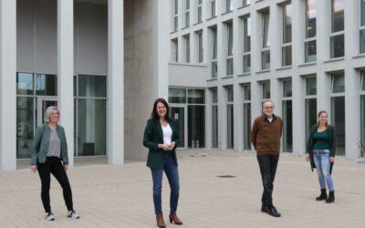 Nadine Jansen, Regina Radetzky, Elke Rettke und Detlef Baldamus sind Waldbröls neue Schiedsleute
