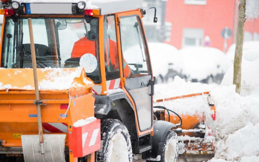 Öffentliche Ausschreibung für Winterdienstleistungen