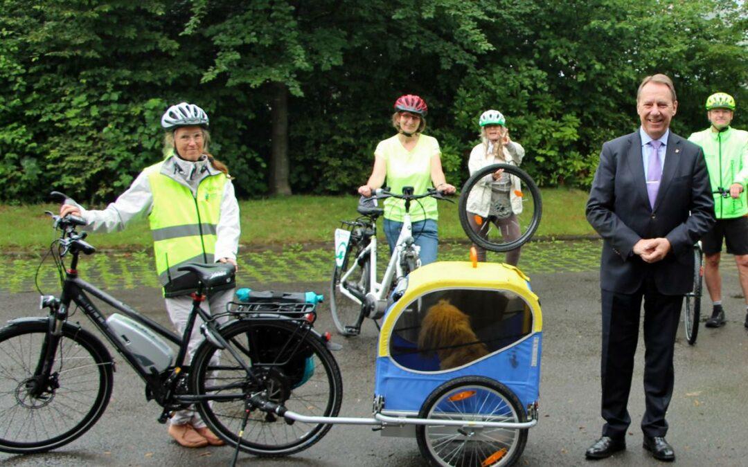 STADTRADELN im Oberbergischen Kreis: Radeln, für das Team Kilometer sammeln, Klima schützen