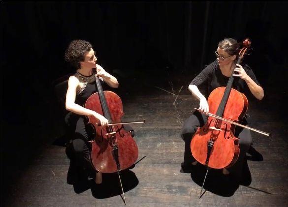 "Virtuoses Cello Konzert des Solina-Celloduos ""Herzklopfen"""