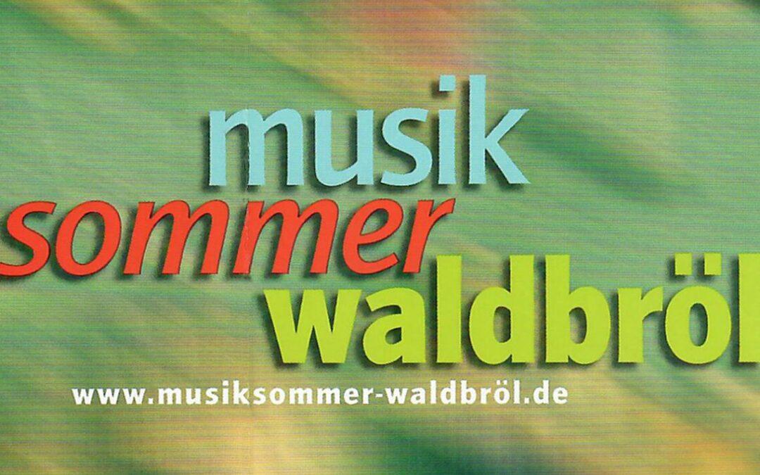 Musik Sommer Waldbröl / Trio Stefan Heidtmann, Frank Hüttebeuker, Christian Bollmann