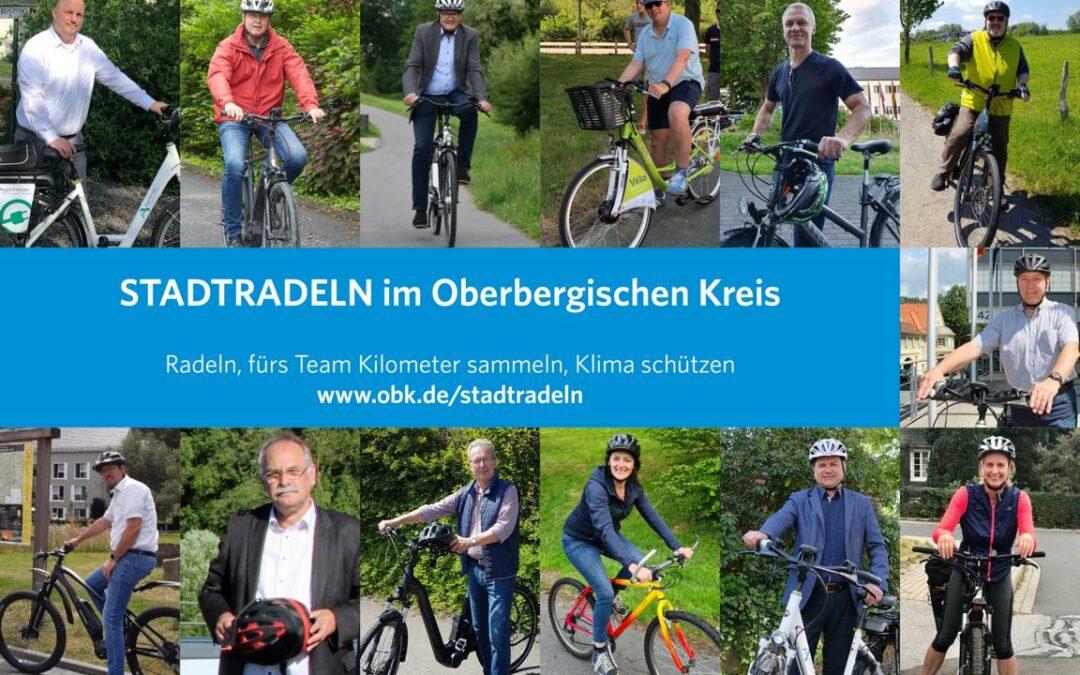 Countdown zum STADTRADELN im Oberbergischen Kreis