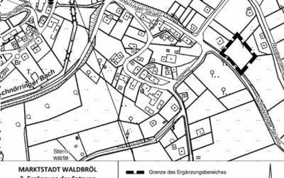 Inkrafttreten der 3. Ergänzung der Satzung für Ortsteil Waldbröl-Schnörringen, Schnörringer Straße