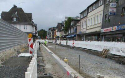Kaiserstraße muss in der Zeit vom 13.09. bis voraussichtlich 29.10.2021 in Teilen voll gesperrt werden
