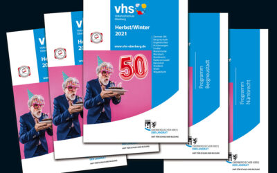 Highlight zum 50. Geburtstag: Die VHS Oberberg lädt zu hochkarätiger Livestream-Lesereihe ein!