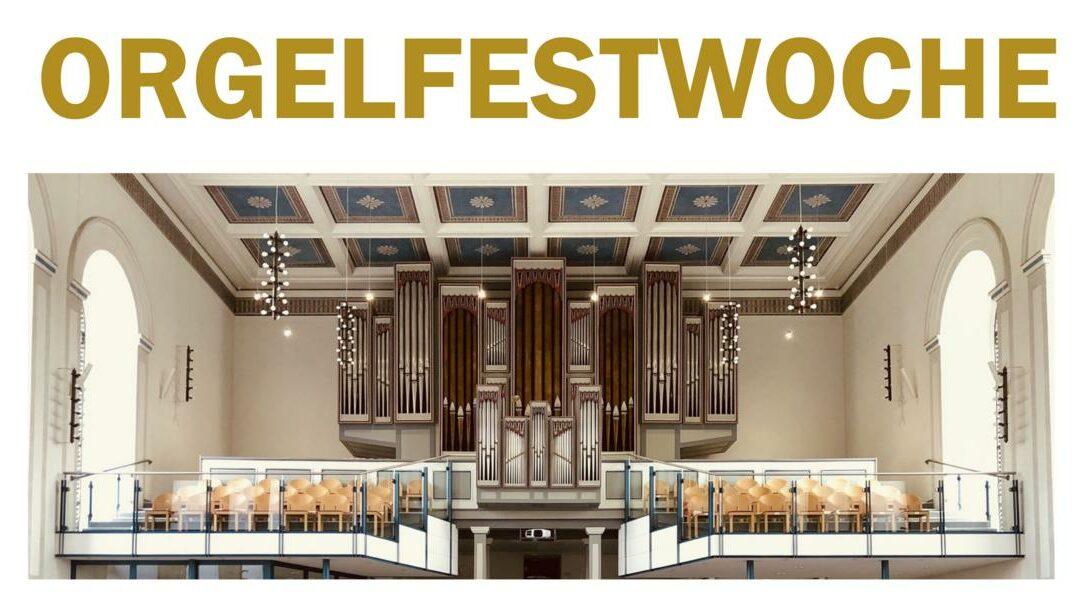 Orgelvespern im Rahmen der Orgelfestwoche